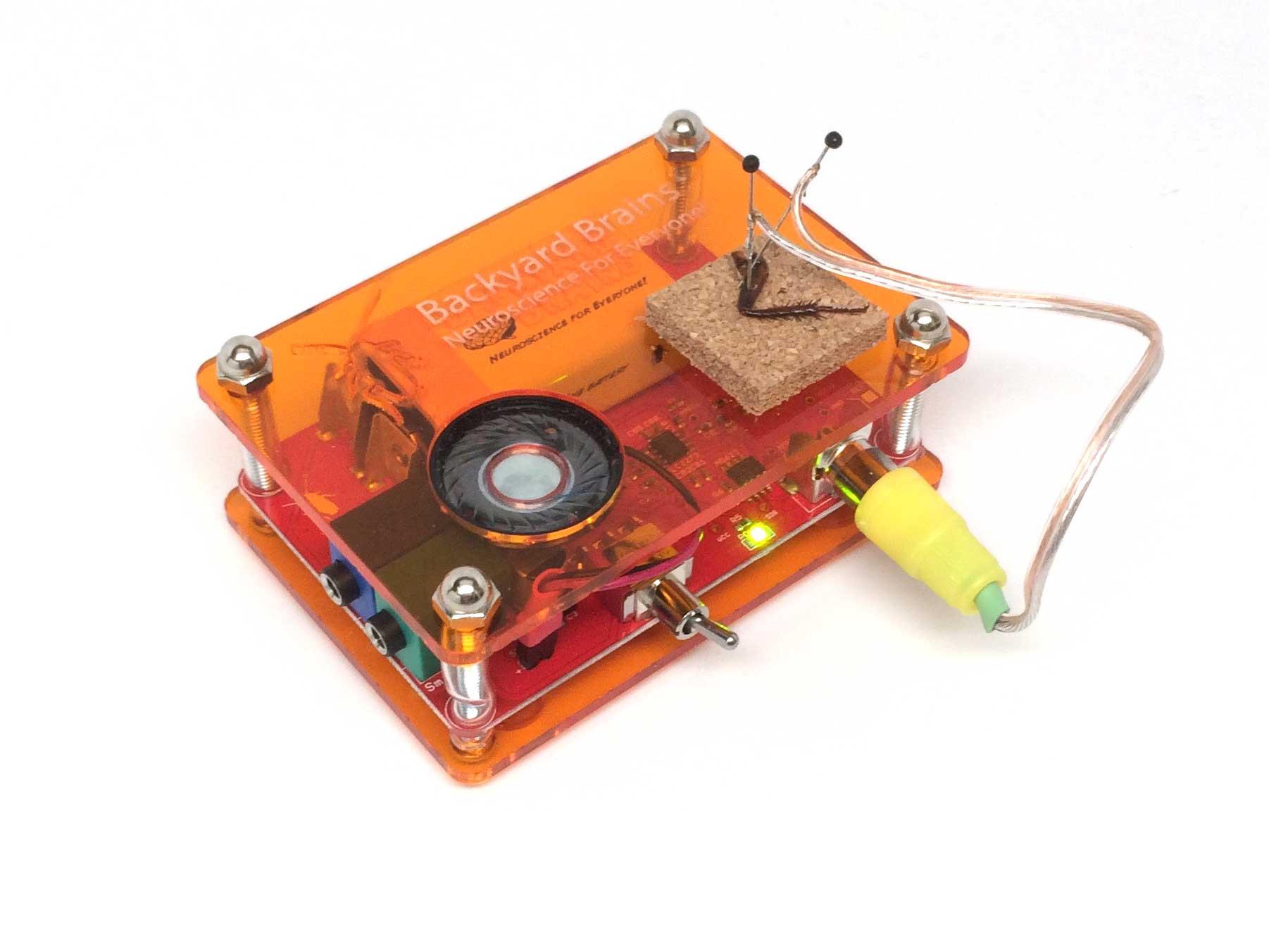 Neuron Spikerbox Chargecompensatedsampleandhold Amplifiercircuit Circuit